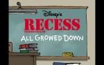 RecessAllGrowedDown